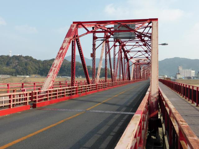 四万十川橋(赤鉄橋)2