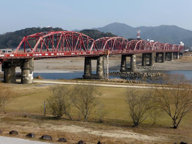 四万十川橋(赤鉄橋)7