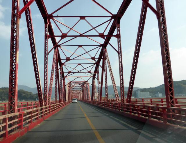 四万十川橋(赤鉄橋)8