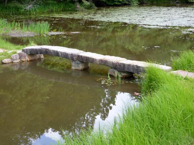 弁財天池の石橋3