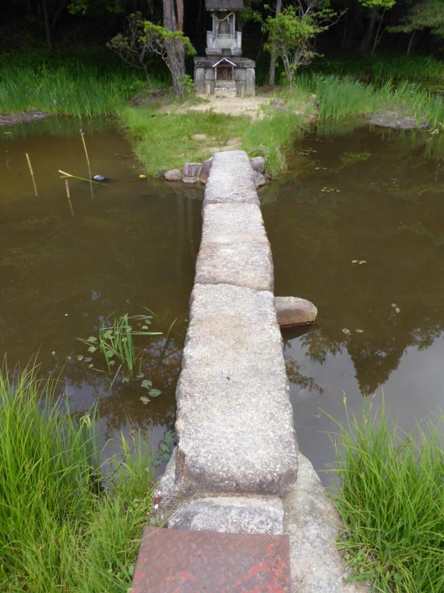 弁財天池の石橋4