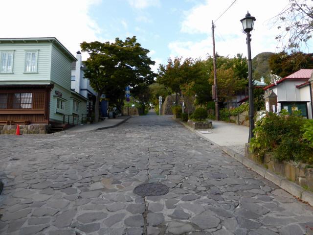函館の坂道0