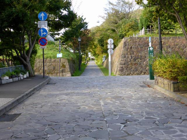 函館の坂道b