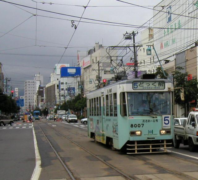 函館の路面電車1