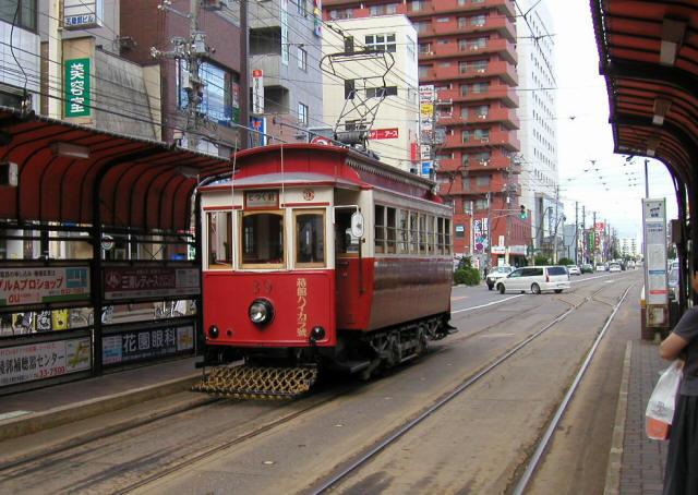 函館の路面電車2