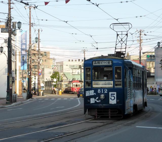 函館の路面電車5