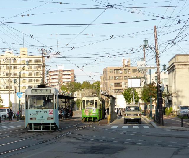 函館の路面電車6