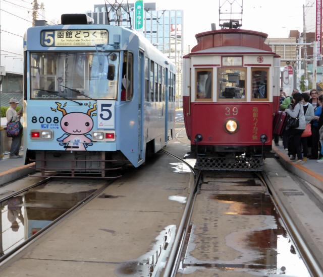 函館の路面電車9