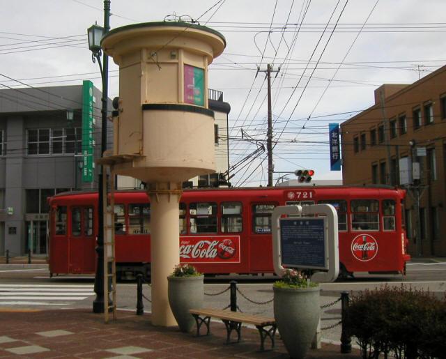 函館の路面電車b