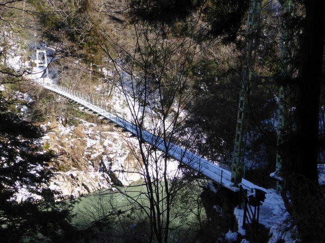天竜峡つつじ橋20