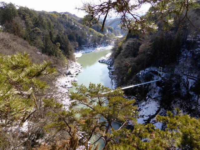 天竜峡つつじ橋10