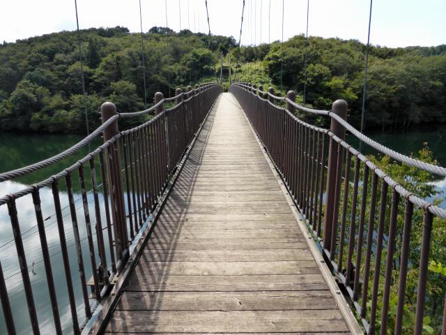 那須矢の目吊橋4