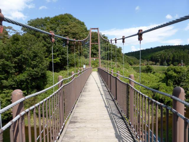 那須矢の目吊橋7