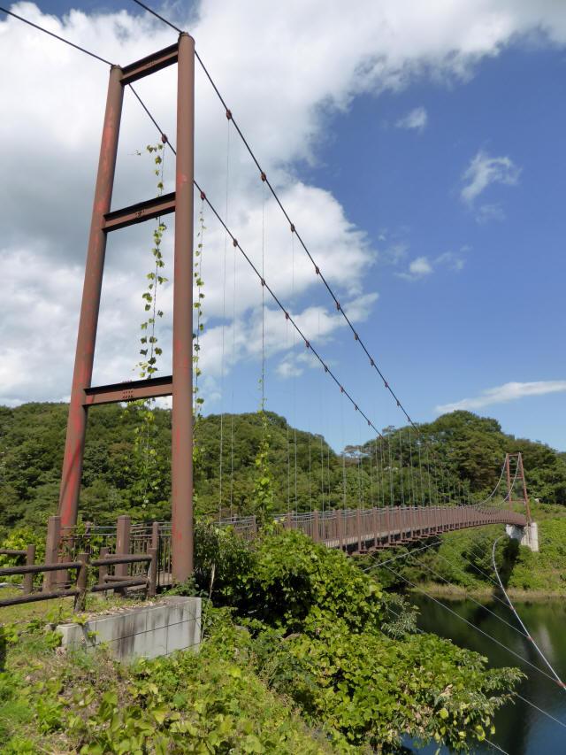 那須矢の目吊橋8
