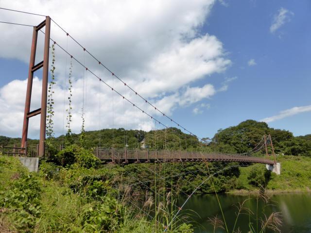 那須矢の目吊橋9