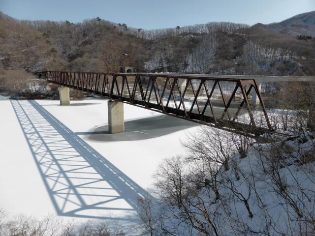 湯西川橋梁4
