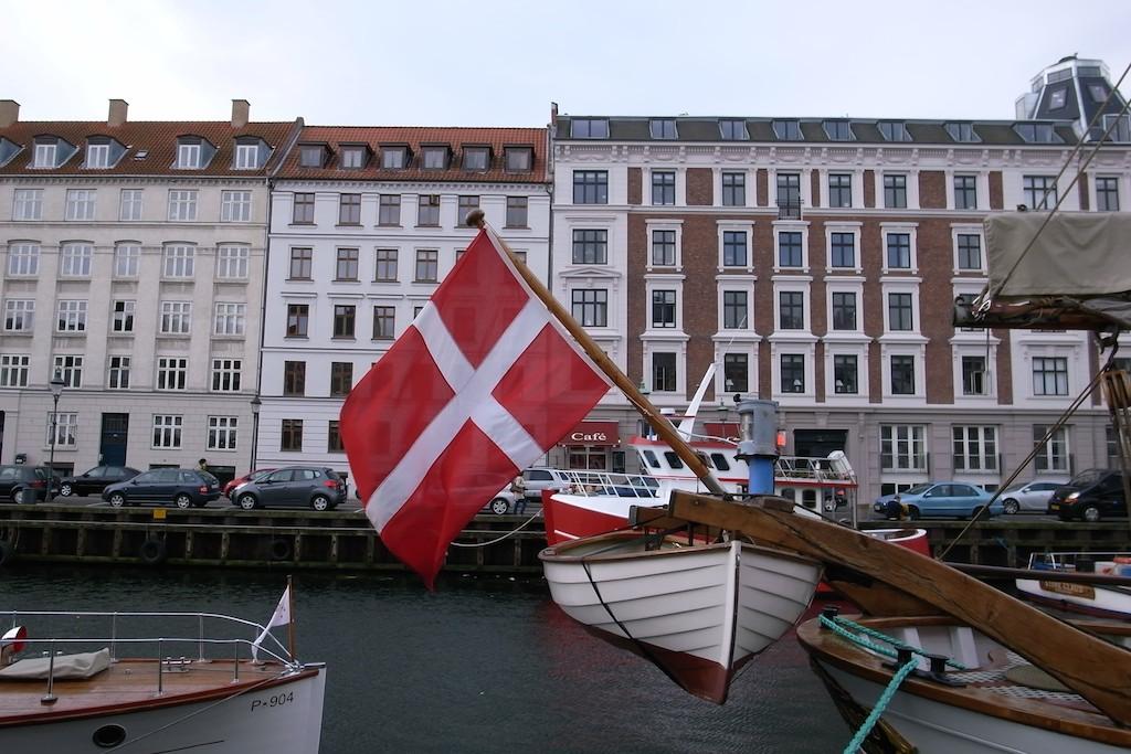 船上の国旗