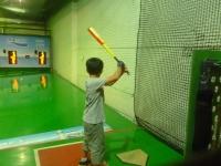 タロコバッティングセンターで野球140928