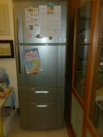 SANYO製4ドア冷蔵庫なおった141007