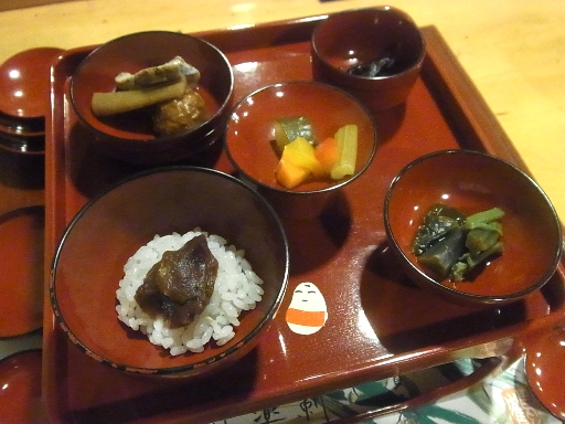 会津郷土料理のお通し