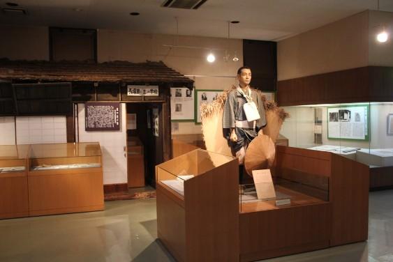 長塚節の資料展示