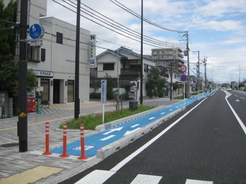大阪府高石市〜泉大津市の自転 ...
