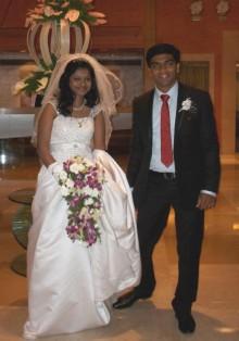 インドでアピスト-花嫁さん
