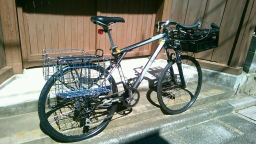 自転車の 自転車 荷台 かご : 20140914_121031_127_convert_20140917114923 ...