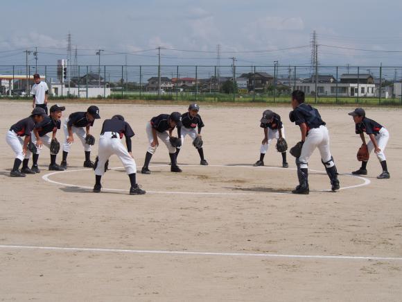 Bチーム練習試合縮小