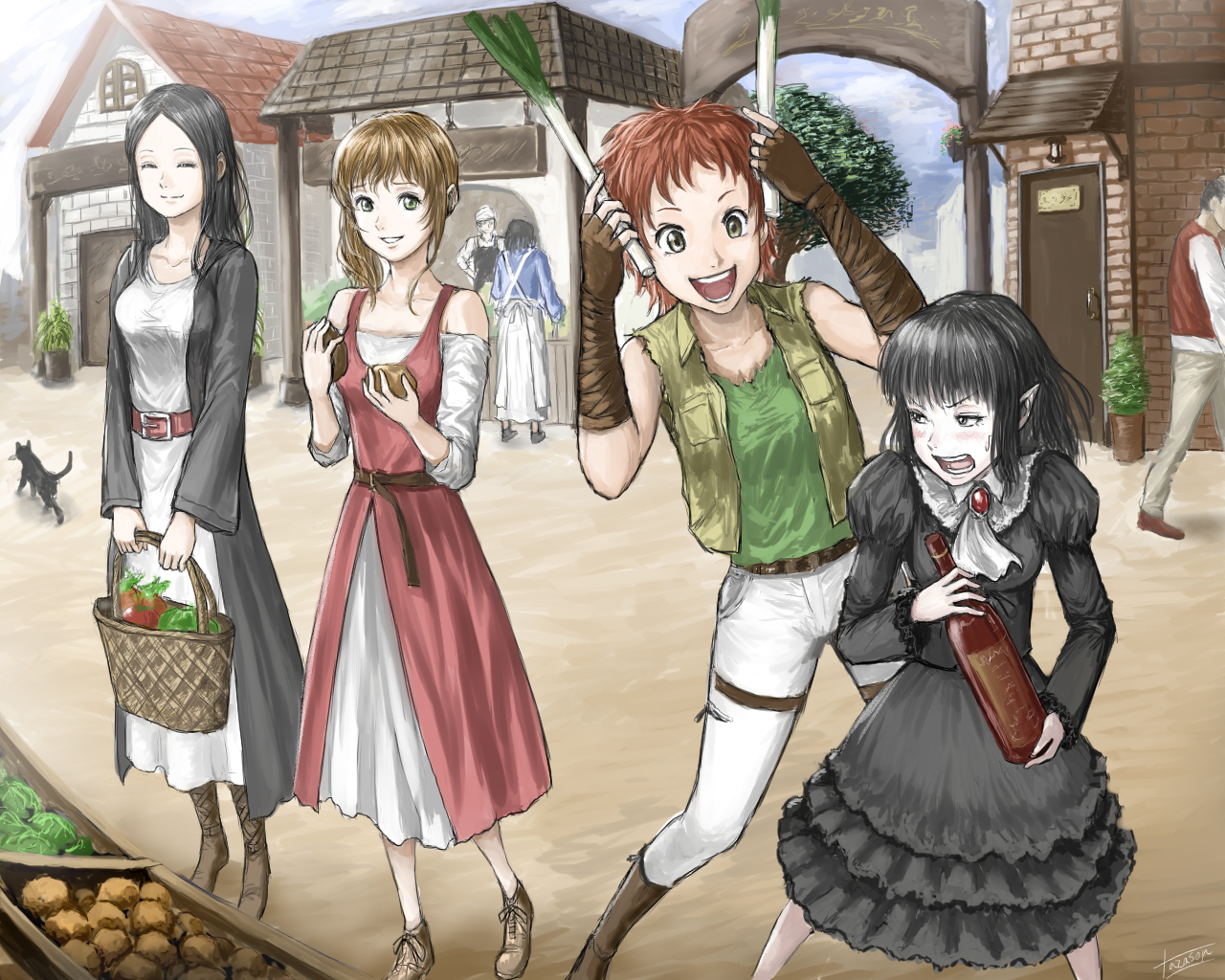 ミサキの妹と弟子たち