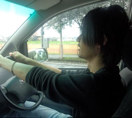 初ドライブ