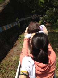 丹波山ローラーすべり台3