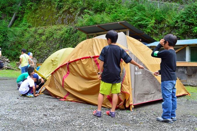 こどもキャンプ