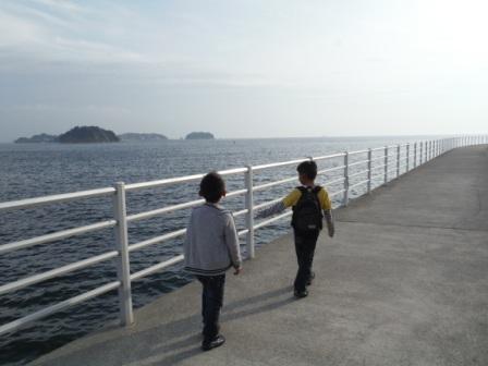 1日間賀島3