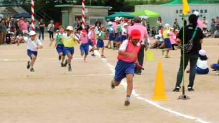 1小学校運動会2014 6