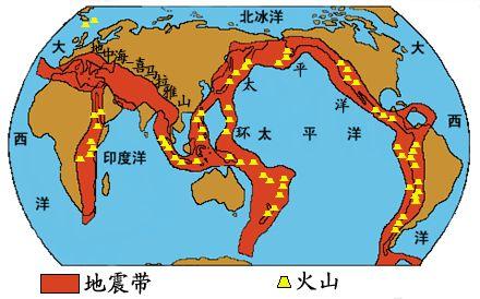 火山帯地震