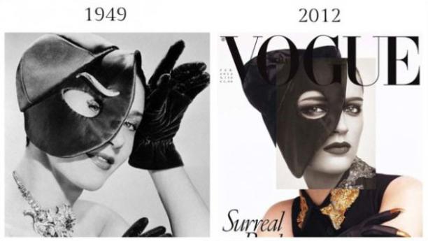 昔のファッション写真と現在のファッション写真を比較したサイト「Part Nouveau」だ。温故知新なのか、それか歴史は戻るのか、 時を経て印象が似ているファッションが