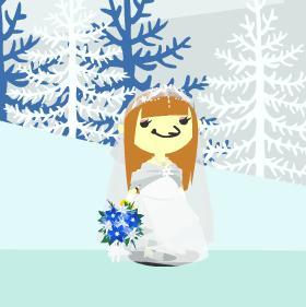 花嫁のドレス