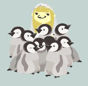 ペンギンだまり