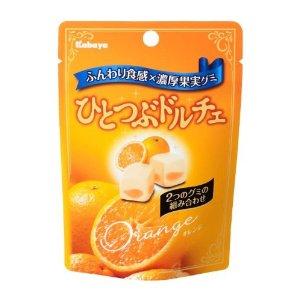 第20位 ひとつぶドルチェ オレンジ味