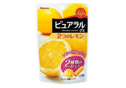 第15位 カバヤ ピュアラルグミ 2つのレモン_convert_20141005143303