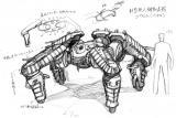 新型無人機動兵器_ゴウレム