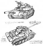 T55_エニグマ中戦車
