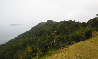 通生湊山城跡