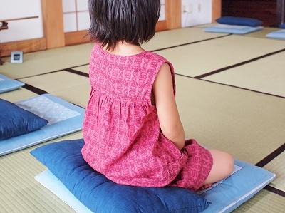 子供坐禅会140809