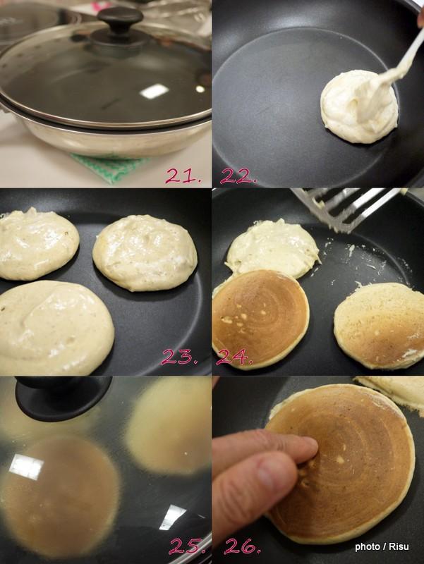 えん麦パンケーキの作り方