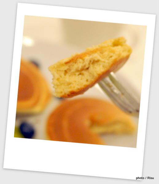 「えん麦」を使ったパンケーキ
