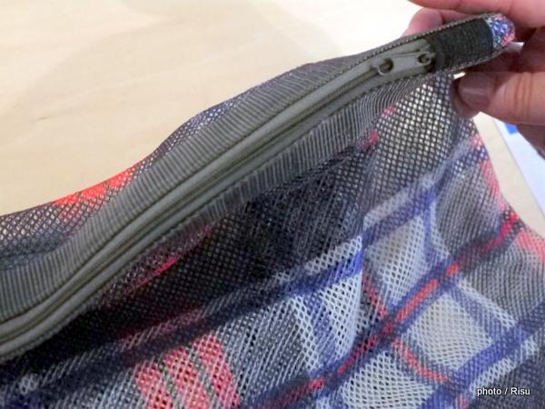 洗濯ネットにもお出かけバッグにも 使い方自由なメッシュバッグ