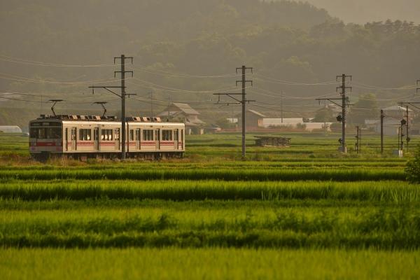 2014年7月30日 上田電鉄別所線 舞田~八木沢 1000系1001F