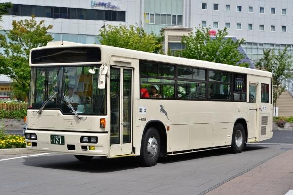 2014年8月28日 千曲バス青木線 上田駅 1211号車
